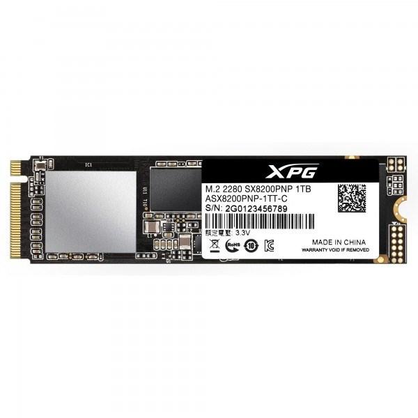 XPG SX8200 Pro 1 TB Solid State Drive - PCI Express (PCI Express 3.0 x4) - 640 TB (TBW) - Internal - M.2 2280