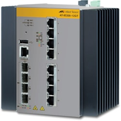 Allied Telesis AT-IE300-12GP-80 8 Ports Manageable Layer 3 Switch