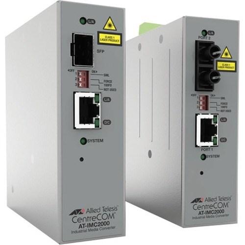 Allied Telesis IMC200TP/SC Transceiver/Media Converter - TAA Compliant