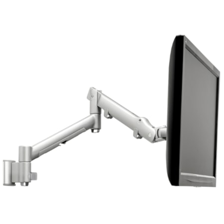 Atdec AWMS-DW6-S Wall Mount for Flat Panel Display, Curved Screen Display - Silver