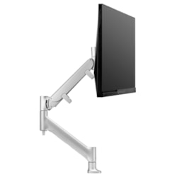 Atdec AWMS-HXB-H-S Desk Mount for Monitor, All-in-One Computer - Silver