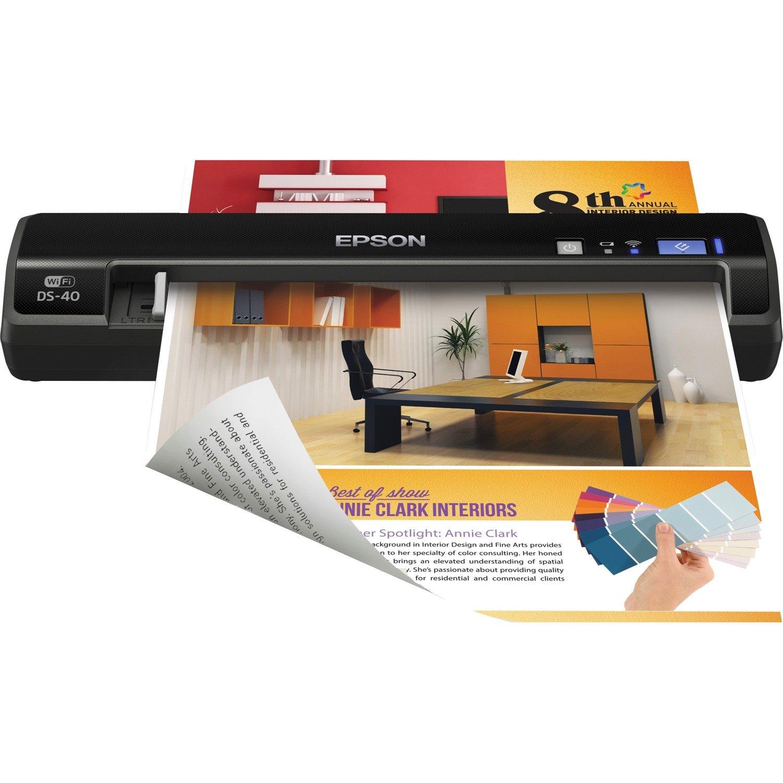 Epson WorkForce DS-40 Sheetfed Scanner - 1200 dpi Optical