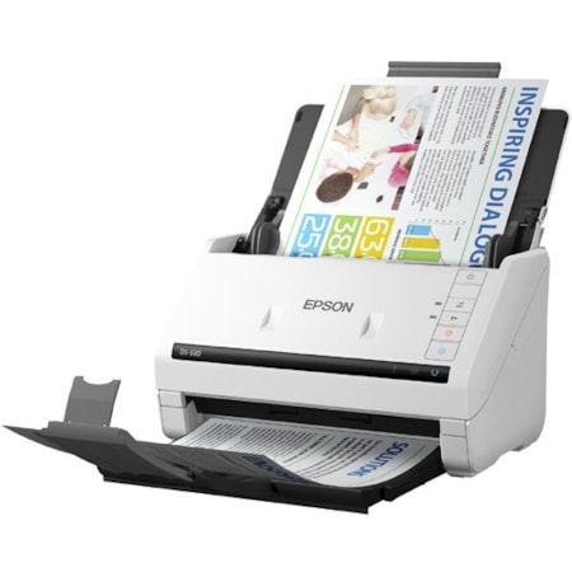 Epson WorkForce DS-530 Sheetfed Scanner - 600 dpi Optical