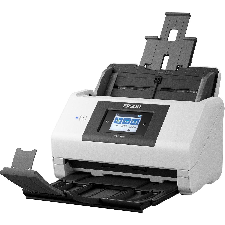 Epson DS-780N Sheetfed Scanner - 600 dpi Optical