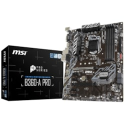 MSI B360-A PRO Desktop Motherboard - Intel Chipset - Socket H4 LGA-1151