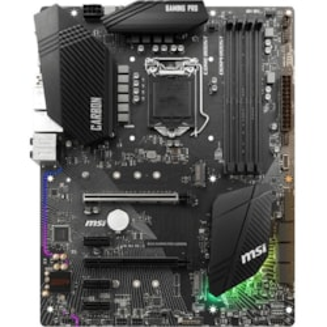 MSI B360 GAMING PRO CARBON Desktop Motherboard - Intel Chipset - Socket H4 LGA-1151