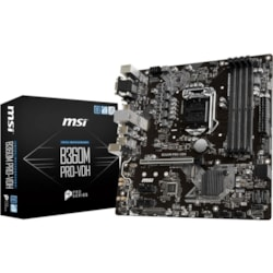 MSI B360M PRO-VDH Desktop Motherboard - Intel Chipset - Socket H4 LGA-1151