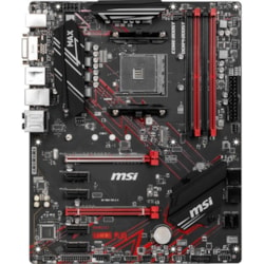 MSI B450 GAMING PLUS MAX Desktop Motherboard - AMD Chipset - Socket AM4