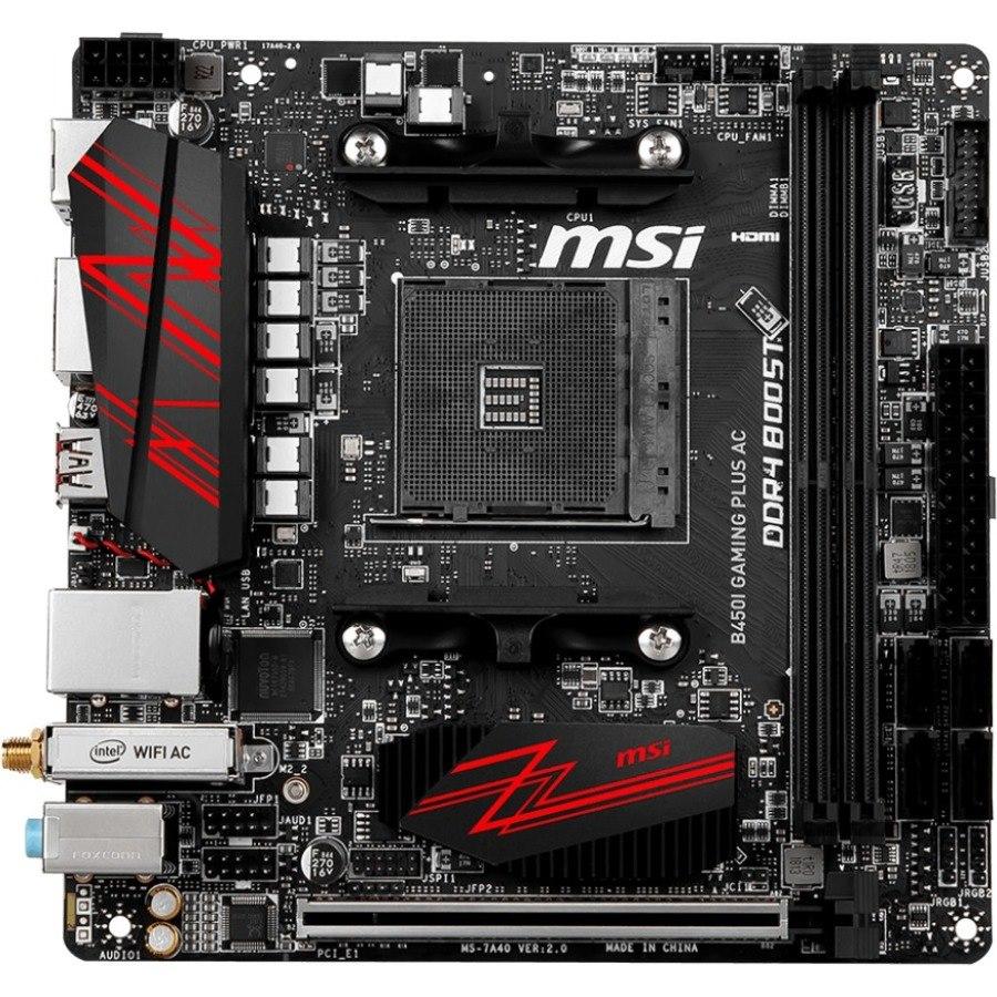 Buy MSI B450I GAMING PLUS AC Desktop Motherboard - AMD Chipset