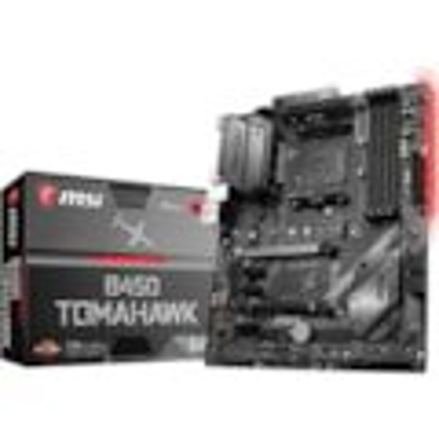MSI B450 TOMAHAWK Desktop Motherboard - AMD Chipset - Socket AM4