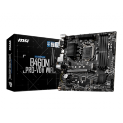 MSI B460M PRO-VDH WIFI Desktop Motherboard - Intel Chipset - Socket LGA-1200