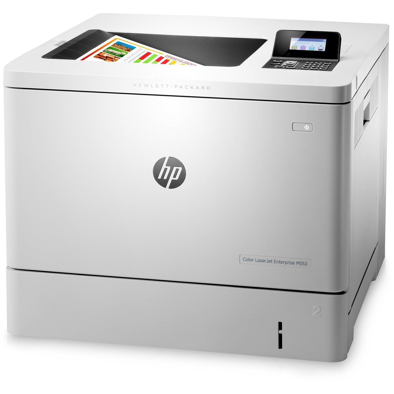 HP LaserJet M553dn Laser Printer - Colour - 1200 x 1200 dpi Print - Plain Paper Print - Desktop