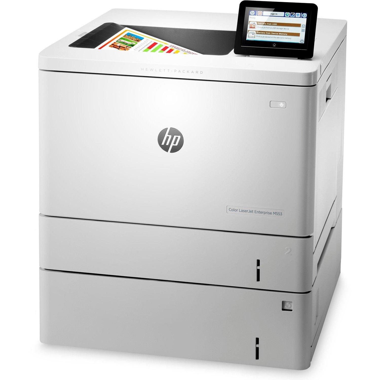 HP LaserJet M553x Laser Printer - Colour