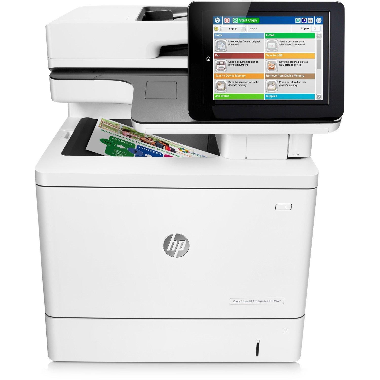 HP LaserJet M577f Laser Multifunction Printer - Colour