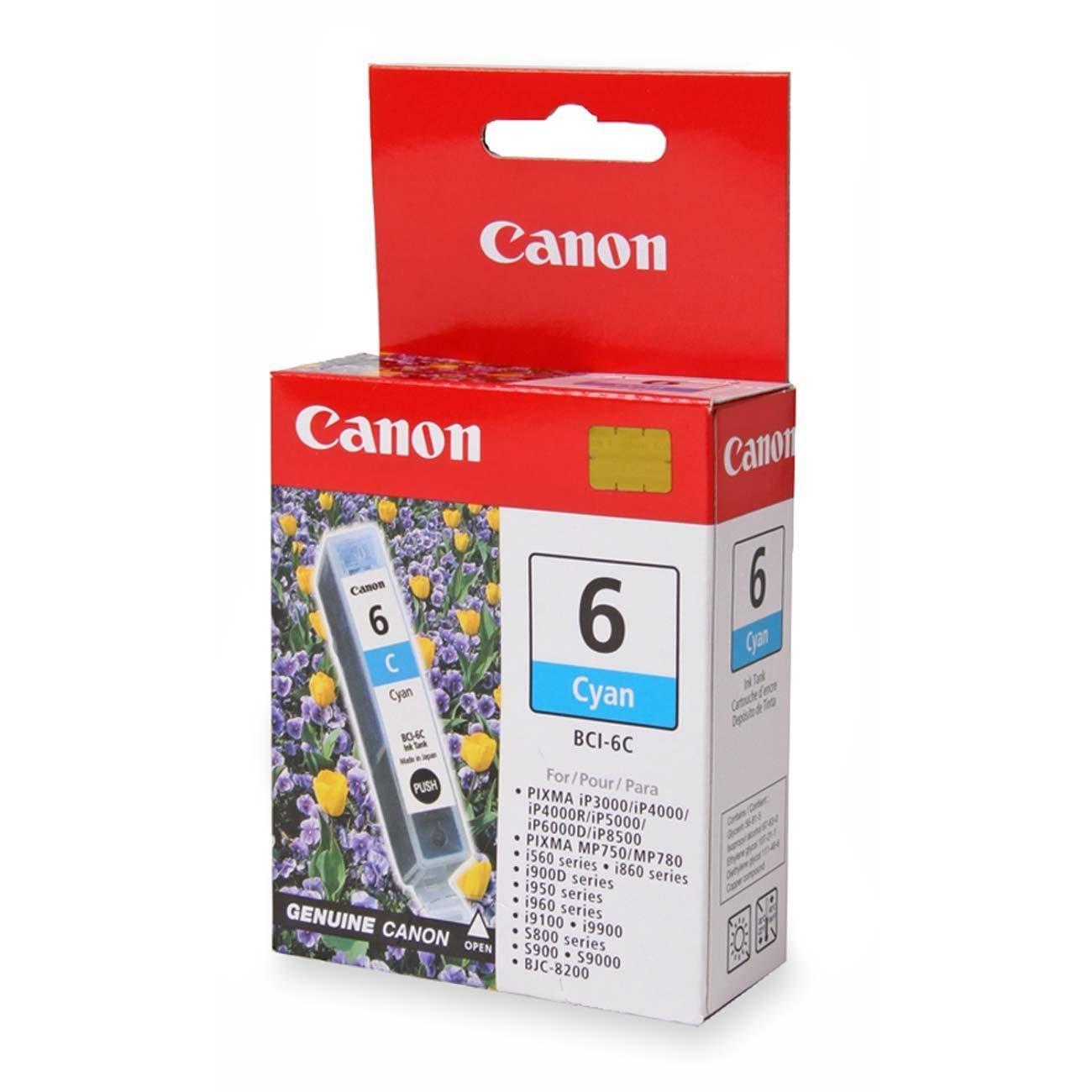 Canon BCI-6C Original Ink Cartridge - Cyan