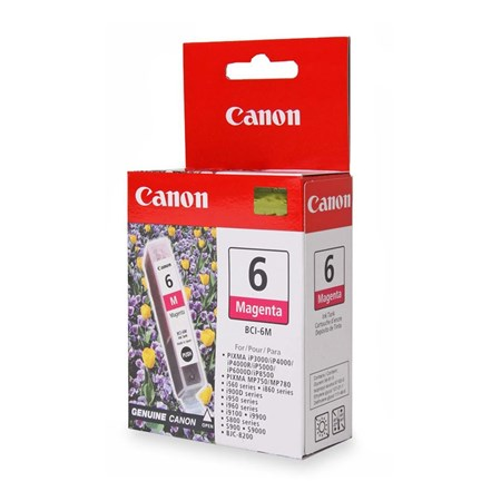 Canon BCI-6M Original Ink Cartridge - Magenta