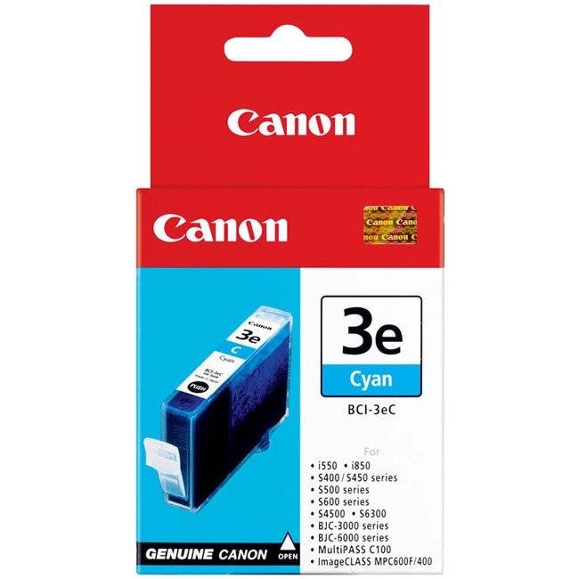 Canon BCI-3EC Original Ink Cartridge - Cyan