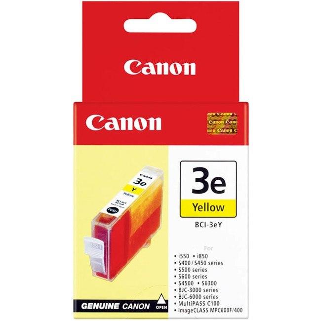 Canon BCI-3EY Original Ink Cartridge - Yellow