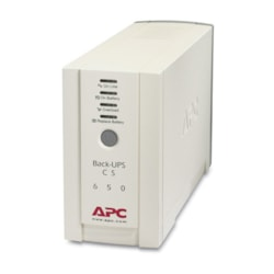 APC by Schneider Electric Back-UPS Standby UPS - 650 VA/400 W