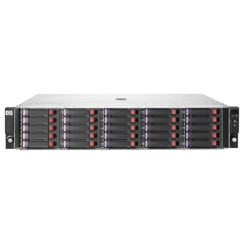 HPE StorageWorks D2700 25 x Total Bays DAS Storage System - 2U - Rack-mountable
