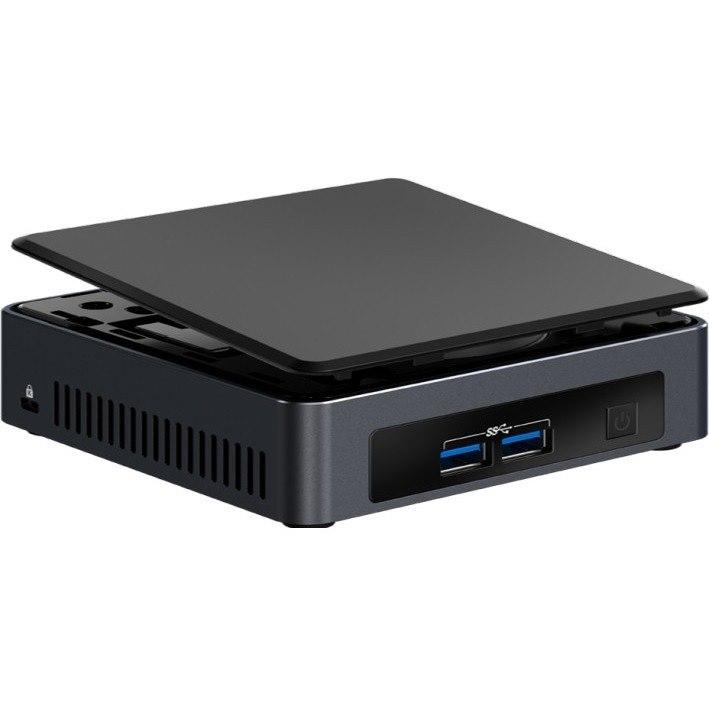 Intel NUC 7 Business NUC7i5DNKPC Desktop Computer - Core i5 i5-7300U - 8 GB  RAM - 256 GB SSD - Mini PC