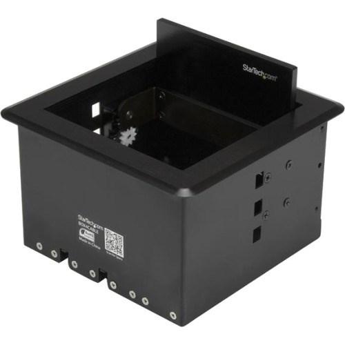 StarTech.com Cable Box - Black - 1 Pack