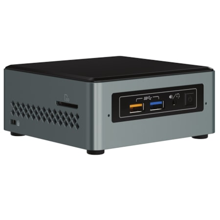 Intel NUC NUC6CAYH Desktop Computer - Intel Celeron J3455 1.50 GHz DDR3L SDRAM - Mini PC