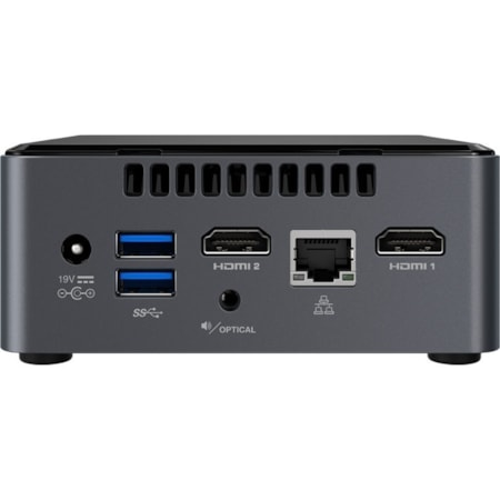 Intel NUC NUC7CJYH Desktop Computer - Celeron J4005 - Mini PC