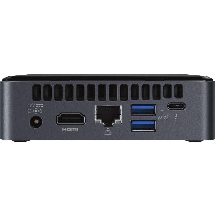 Intel NUC 8 Home NUC8i5BEKPA Desktop Computer - Core i5 i5-8259U - 8 GB RAM - 256 GB SSD - Mini PC