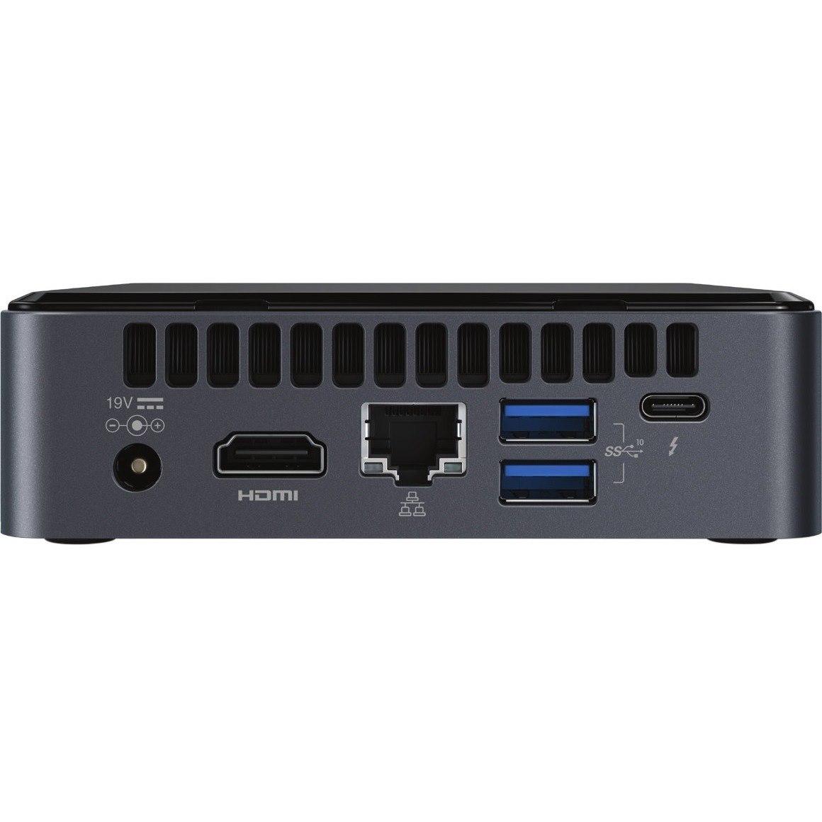 Intel NUC 8 Enthusiast NUC8i7BEKQA Desktop Computer - Core i7 i7-8559U - 16 GB RAM - 512 GB SSD - Mini PC