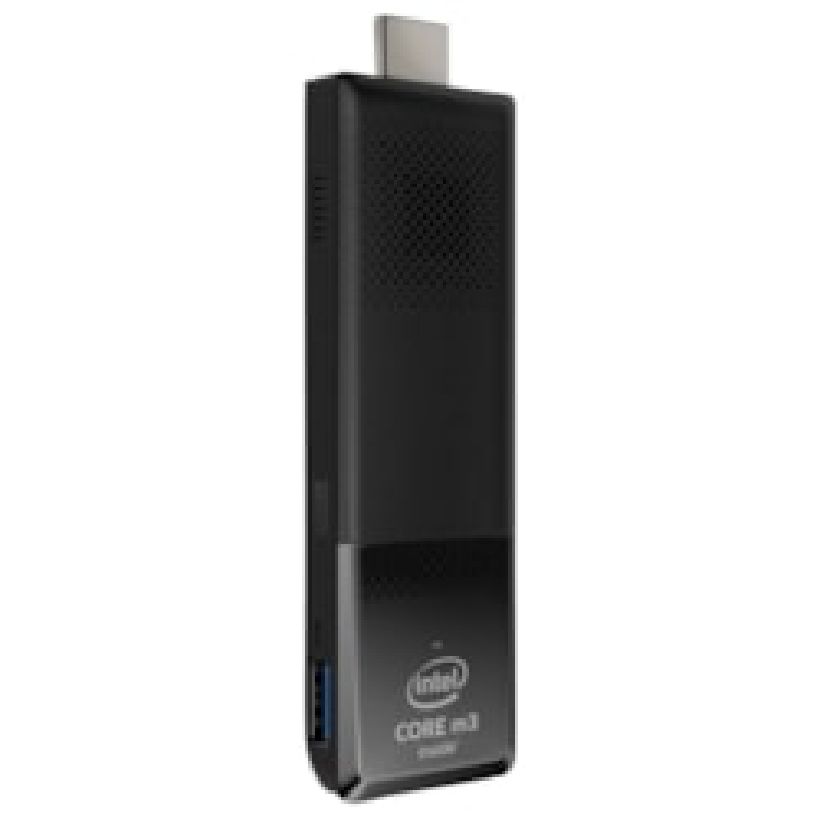 Intel Compute Stick STK2m3W64CC PC Stick for LCD Display - Stick - Black