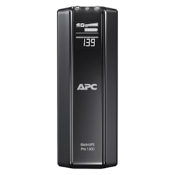 APC by Schneider Electric Back-UPS BR1500GI Line-interactive UPS - 1.50 kVA/865 W - Tower