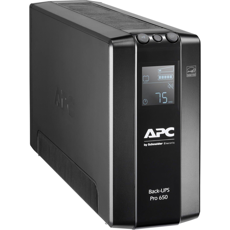 APC by Schneider Electric Back-UPS Pro BR650MI Line-interactive UPS - 650 VA/390 W