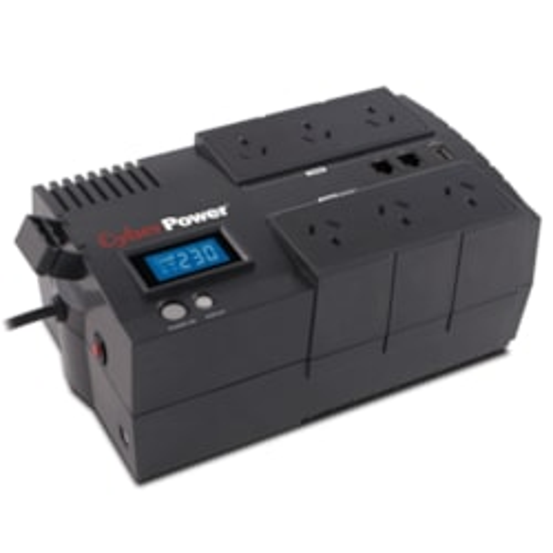 CyberPower BRICs BR850ELCD Line-interactive UPS - 850 VA/510 W