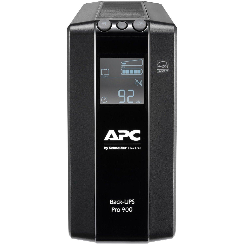 APC by Schneider Electric Back-UPS Pro BR900MI Line-interactive UPS - 900 VA/540 W