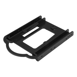 "StarTech.com Drive Bay Adapter for 3.5"" Serial ATA, IDE, U.2 (SFF-8639), SAS Internal - Black"