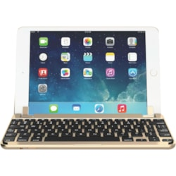 Brydge 7.9 Keyboard - Wireless Connectivity - Bluetooth - Gold
