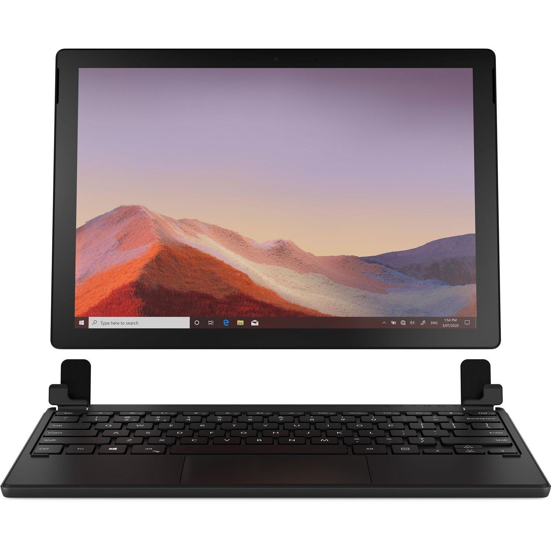 Brydge 12.3 Pro+ Keyboard - Wireless Connectivity - TouchPad - English - Black