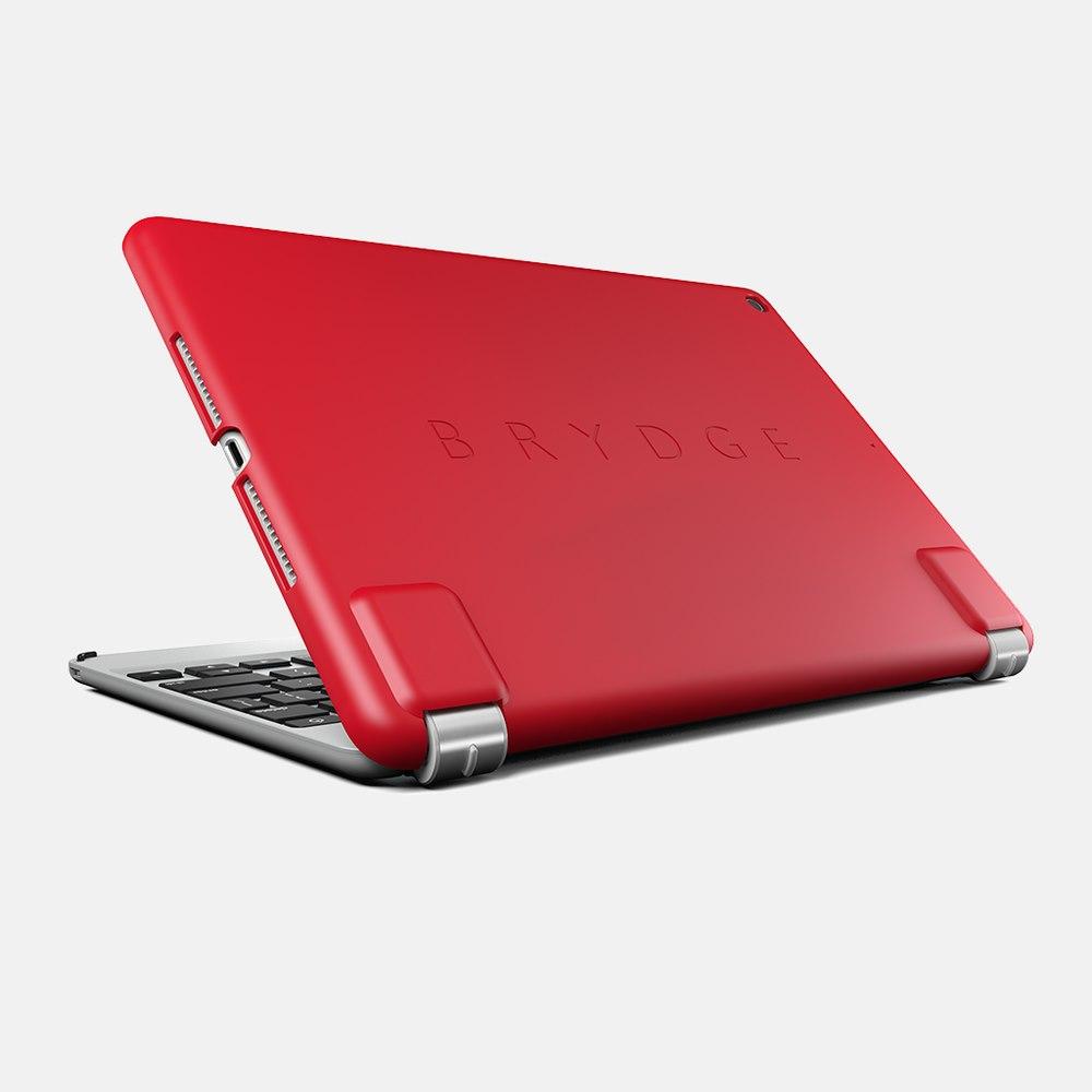 Brydge Slimline Case for Apple iPad (6th Generation), iPad (5th Generation), iPad Air - Red