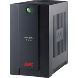 APC by Schneider Electric Back-UPS Line-interactive UPS - 700 VA/390 W