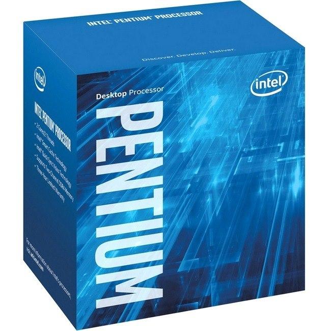 Intel Pentium G4600 Dual-core (2 Core) 3.60 GHz Processor - Socket H4 LGA-1151 - Retail Pack