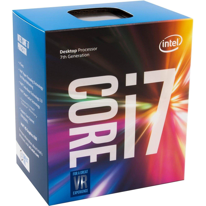 Intel Core i7 i7-7700 Quad-core (4 Core) 3.60 GHz Processor - Socket H4 LGA-1151 - Retail Pack