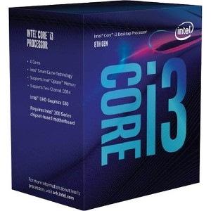 Intel Core i3 i3-8100 Quad-core (4 Core) 3.60 GHz Processor - Retail Pack