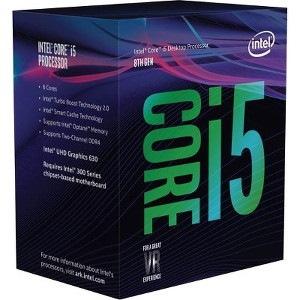 Intel Core i5 i5-8400 Hexa-core (6 Core) 2.80 GHz Processor - Retail Pack
