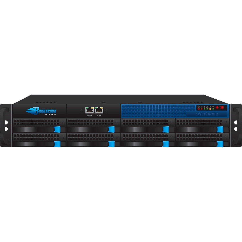 Barracuda 810 Network Security/Firewall Appliance