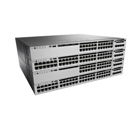 Cisco Catalyst WS-C3850-48P 48 Ports Manageable Ethernet Switch