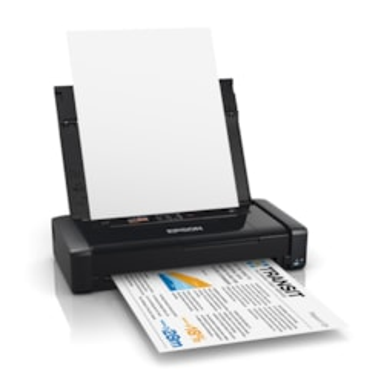 Epson WorkForce WF-100 Inkjet Printer - Colour - 5760 dpi Print - Photo Print - Portable
