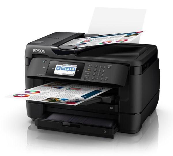 Epson WorkForce WF-7725 Inkjet Multifunction Printer - Colour