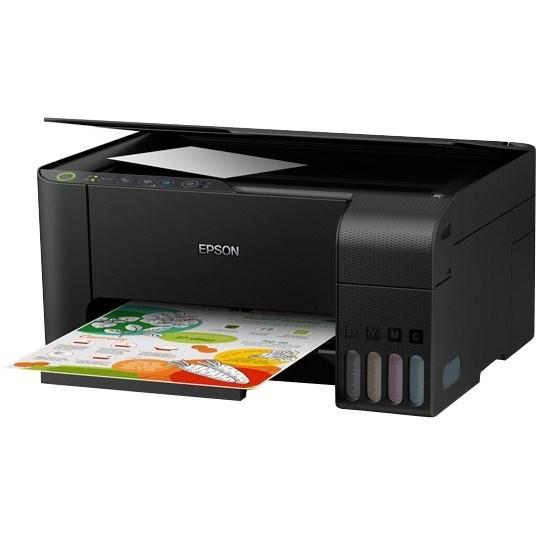 Epson Expression ET-2710 Inkjet Multifunction Printer - Colour - Photo Print - Desktop