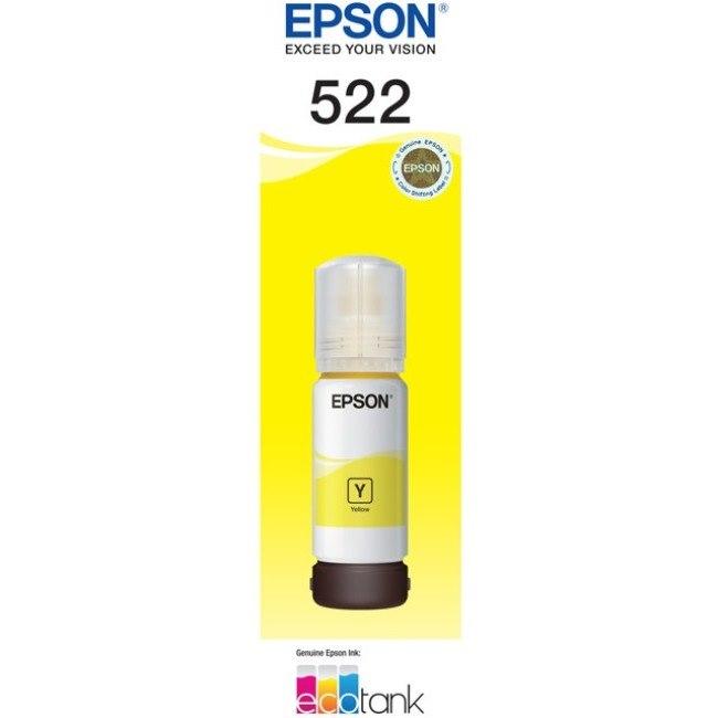 Epson EcoTank T522 Ink Refill Kit - Yellow - Inkjet